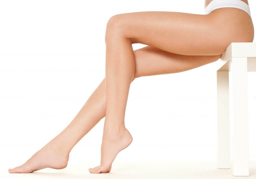 Pair of female legs